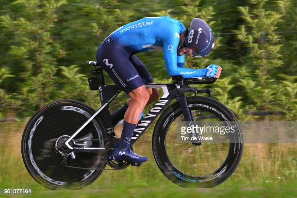 Richard Carapaz of Ecuador and Movistar Team / during the 101st Tour of Italy 2018, Stage 16 a 34,2km Individual Time Trial stage from Trento to...