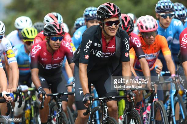 Richard Carapaz of Ecuador and Team INEOS / during the 3rd Tour of Colombia 2020, Stage 5 a 180,5km stage from Paipa to Zipaquirá / @TourColombiaUCI...