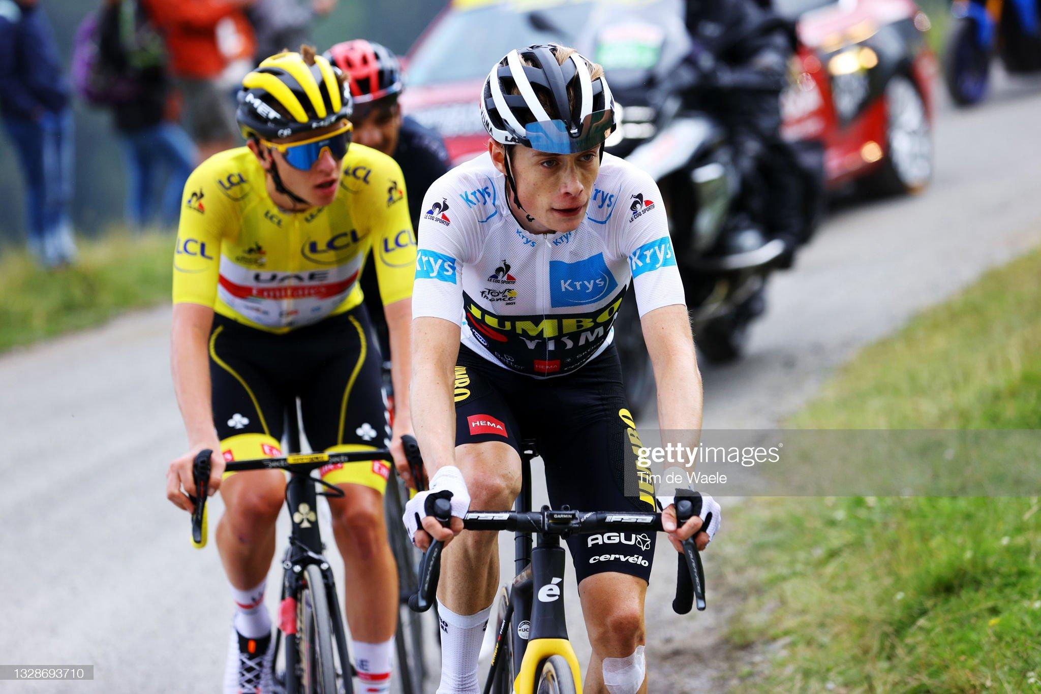 108th Tour de France 2021 - Stage 17 : Fotografía de noticias