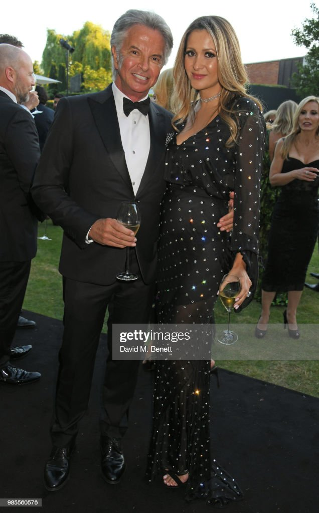 Argento Ball For The Elton John AIDS Foundation In Association With BVLGARI & Bob And Tamar Manoukian : News Photo