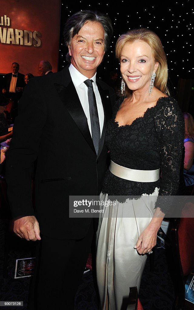 Richard Caring and wife Jackie attend the Variety Club Showbiz Awards, at the Grosvenor House, on November 15, 2009 in London, England.