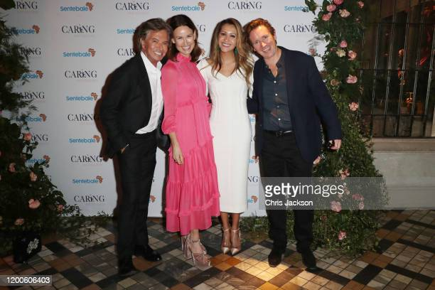 Richard Caring Claire Hornby Patricia Caring and Johnny Hornby Chairman of Sentebale and as Sentebale held an event on January 19 hosted by Mr Mrs...