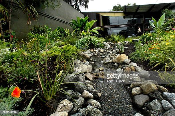 Richard Carlson home and garden near downtown Los Angeles Carlson is an avid collector and somewhere along the way he accumulated several of the huge...