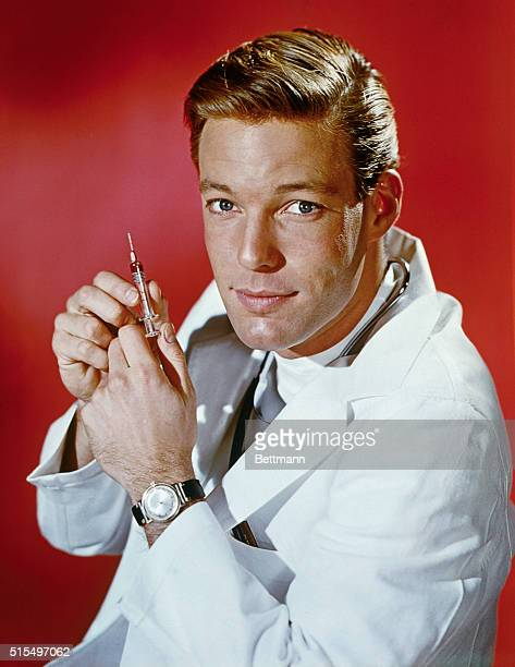 Richard Chamberlain, Actor, as he appears in the television series Dr. Kildare.