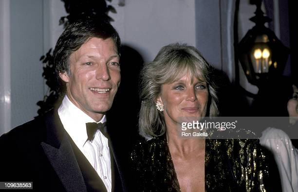 Richard Chamberlain and Linda Evans during Richard Chamberlain and Linda Evans Sighting at Chasen's Restaurant in Beverly Hills March 1 1984 at...