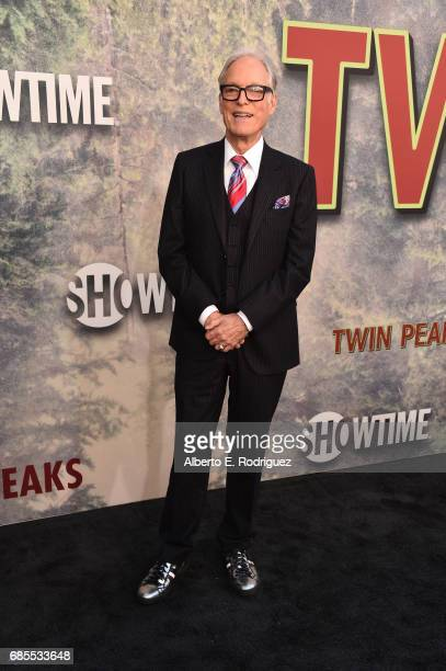Richard Chamberlain attends the premiere of Showtime's 'Twin Peaks' at The Theatre at Ace Hotel on May 19 2017 in Los Angeles California