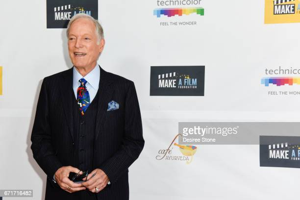 Richard Chamberlain attends the Premiere of 'The Black Ghiandola' hosted by Make A Film Foundation at Samuel Goldwyn Theater on April 22 2017 in...