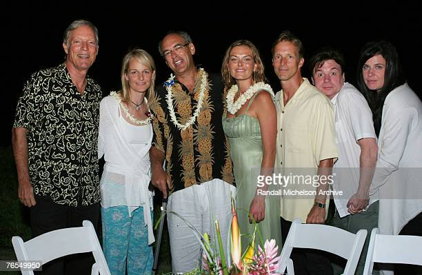 Richard Chamberlain Helen Hunt Shep Gordon Renee Loux Martin Rabbett Mike Myers and Robin Ruzan