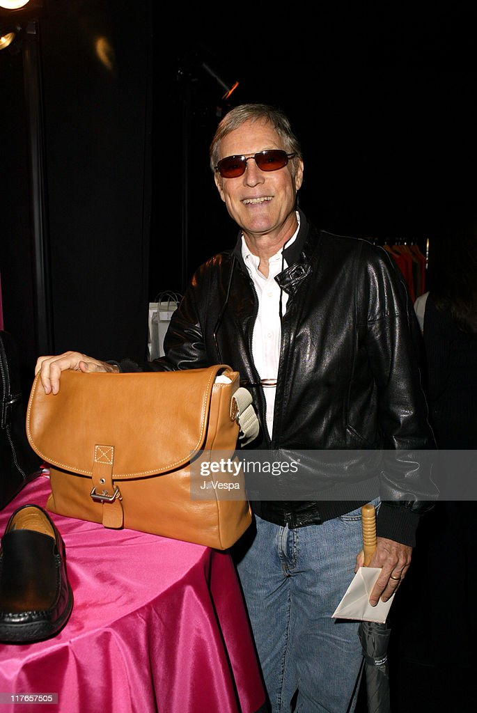Richard Chamberlain with Kenneth Cole New York during 2004 Screen Actors Guild Awards - Backstage Creations Day One at The Shrine Auditorium in Los Angeles, California, United States.