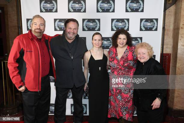 Richard Clabaugh Olan Montgomery Alissa Arnold Hanna Edwards Fran Clabaugh attend the World Premiere of ALTERSCAPE directed by Serge Levin at The...