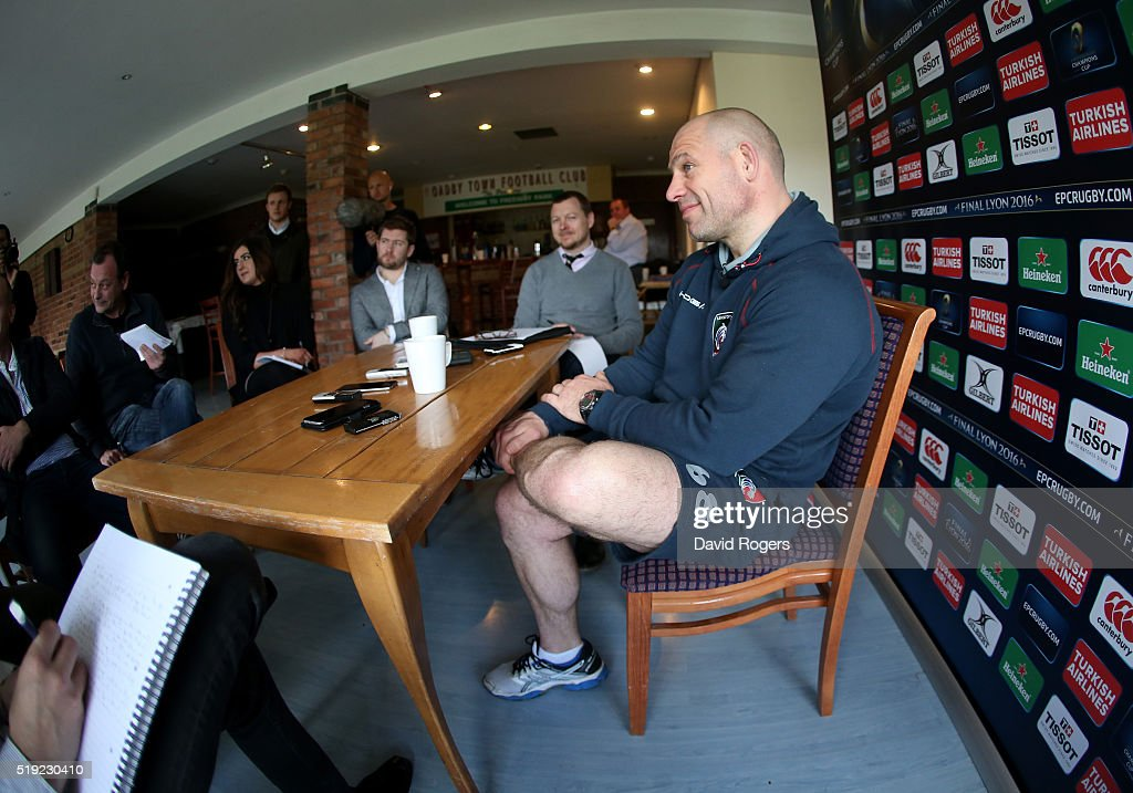 Leicester Tigers Media Session