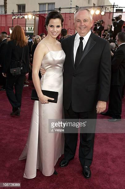 Richard Cook of The Walt Disney Compnay and daughter Elizabeth