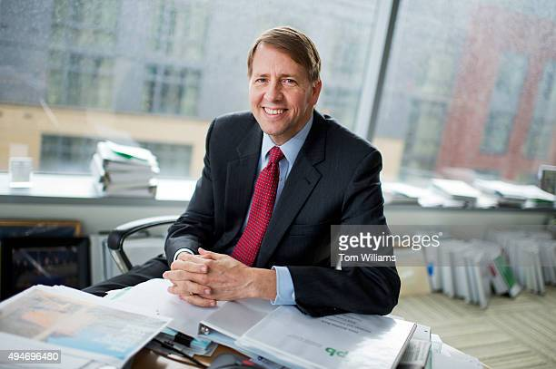 Richard Cordray Director of the Consumer Financial Protection Bureau is photographed in his Washington office October 28 2015