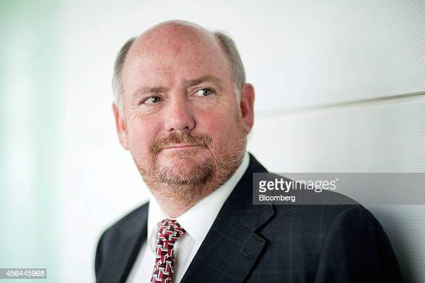 Richard Cousins chief executive officer of Compass Group Plc poses for a photograph ahead of an interview in London UK on Wednesday Oct 1 2014 The UK...