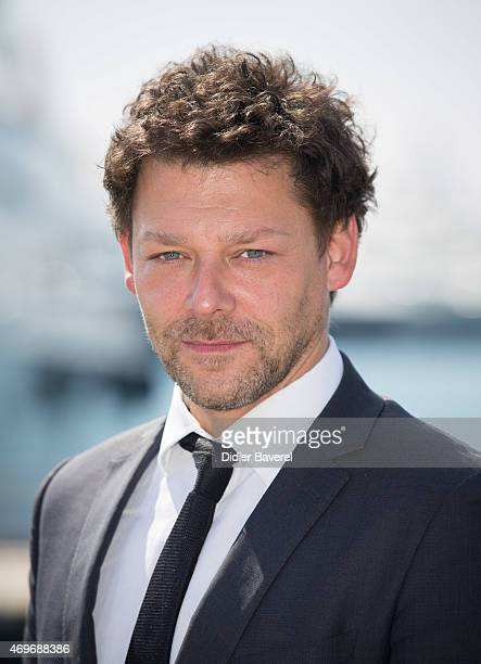 Richard Coyle poses during the 'AD The Bible Continues' photocall at MIPTV on April 14 2015 in Cannes France