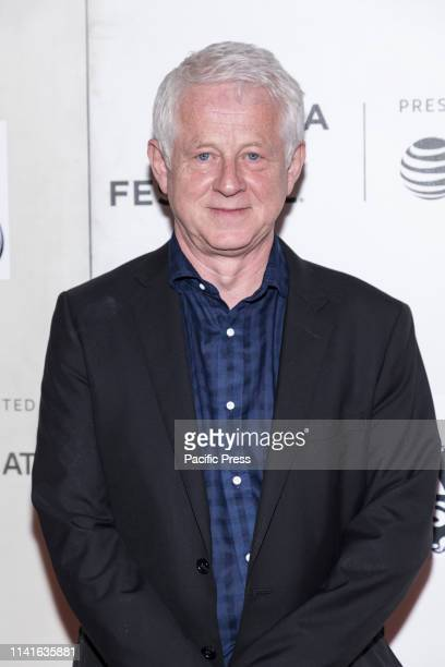 "Richard Curtis attends ""Yesterday"" Closing Night Gala Film during 2019 Tribeca Film Festival at The Stella Artois Theatre, Manhattan."