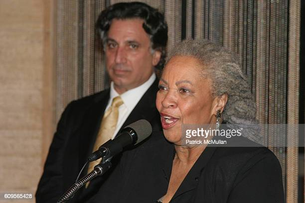 Richard Danielpour and Toni Morrison attend New York City Opera opens its Fall Season with the New York Premiere of Margaret Garner at New York State...