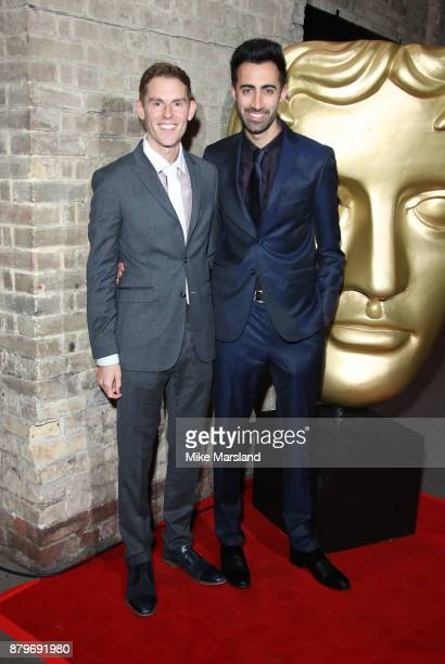 Richard DavidCaine and Joseph Elliott attend the BAFTA Children's awards at The Roundhouse on November 26 2017 in London England
