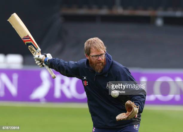 Richard Dawson Head Coach of Gloucestershire during Royal London OneDay Cup match between Essex Eagles and Gloucestershire CCC at The Cloudfm County...