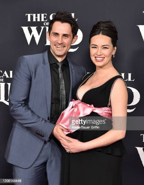 """Richard de Klerk and Cara Gee attend the Premiere of 20th Century Studios' """"The Call of the Wild"""" at El Capitan Theatre on February 13, 2020 in Los..."""
