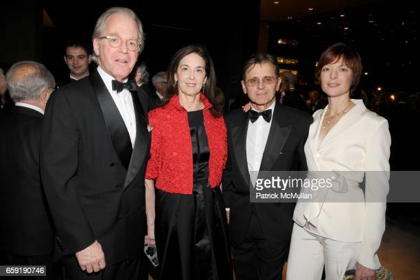 Richard DeScherer Jennie DeScherer Mikhail Baryshnikov and Lisa Rinehart attend LEADING LADIES GALA Honoring LAURIE TISCH at Lincoln Center on...