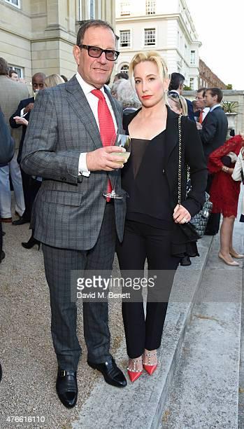 Richard Desmond and Joy Desmond attend the Bell Pottinger Summer Party at Lancaster House on June 10 2015 in London England