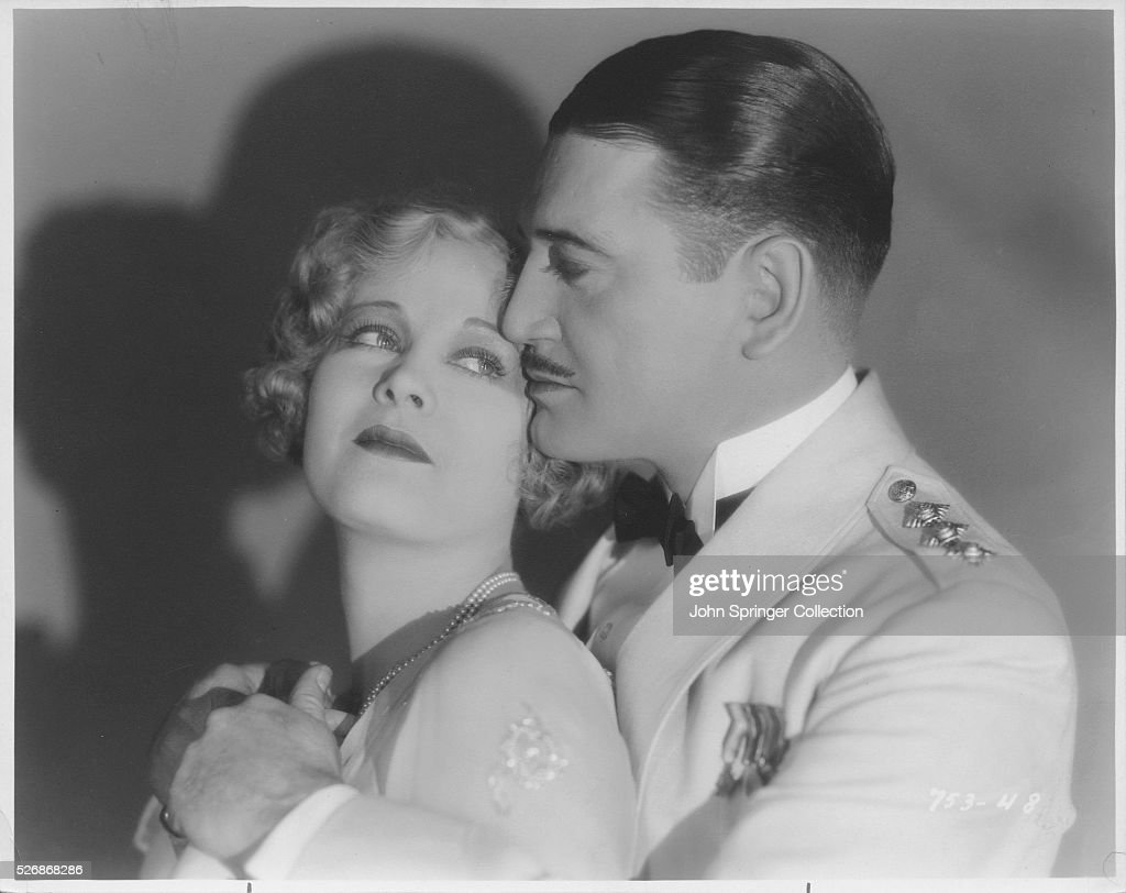 Richard Dix and Esther Ralston in a Scene from the Film The Wheel of Life : News Photo
