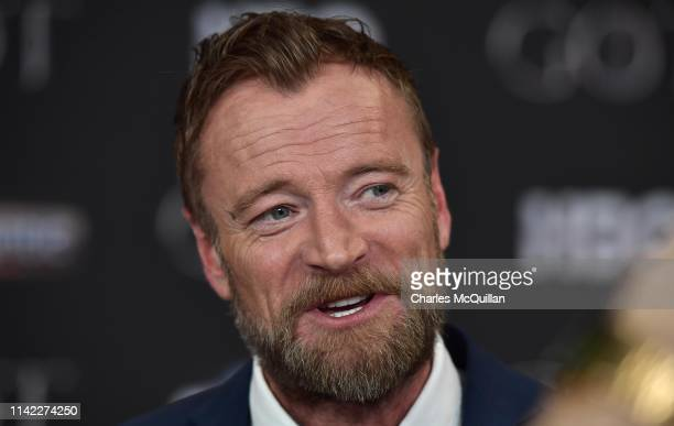 """Richard Dormer attends the """"Game of Thrones"""" Season 8 screening at the Waterfront Hall on April 12, 2019 in Belfast, Northern Ireland."""