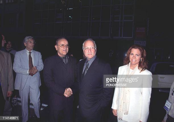 Richard Dreyfus at Montreal film festival in Montreal Canada On September 04 1999With his new wife Janelle