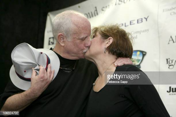 Richard Dreyfuss and Carrie Fisher during 10th Annual Bermuda International Film Festival - Tales From Hollywood at Front Room in Hamilton, Bermuda.