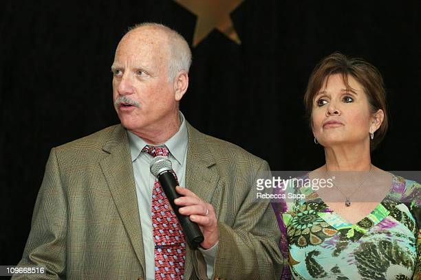Richard Dreyfuss and Carrie Fisher during 10th Annual Bermuda International Film Festival - Awards Ceremony at Hamilton Princess Hotel in Hamilton,...