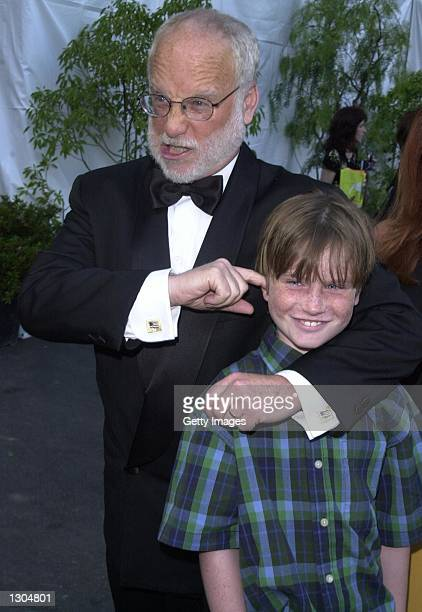 Richard Dreyfuss and his son Harry arrive at the Hollywood Bowl Hall of Fame Awards June 23 2000 in Los Angeles CA