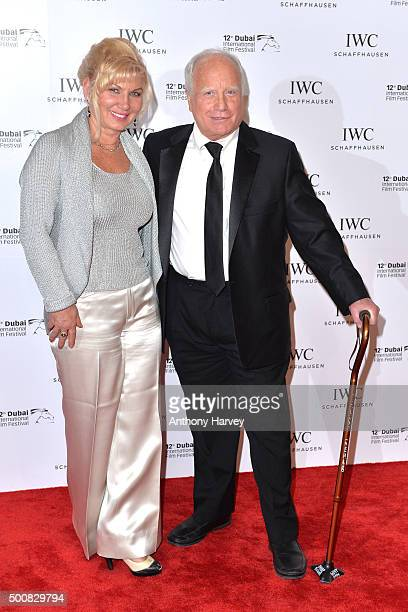Richard Dreyfuss and his wife Svetlana Erokhin during the IWC Filmmaker Award Night 2015 at The One Only Royal Mirage on December 10 2015 in Dubai...
