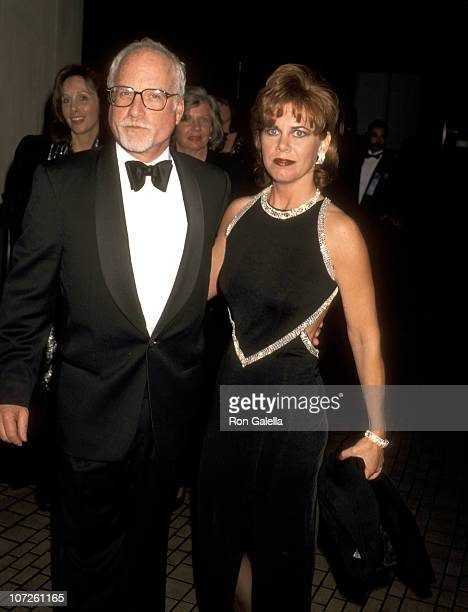 Richard Dreyfuss and Janelle Lacey during The American Cinema Awards Foundation Honors Richard Dreyfuss at Westin Bonaventure Hotel in Los Angeles CA...