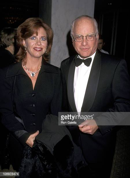 Richard Dreyfuss and Janelle Lacey during Tourette Syndrome Association Honors R.Dreyfuss and O.Sacks at Beverly Wilshire Hotel in Beverly Hills,...