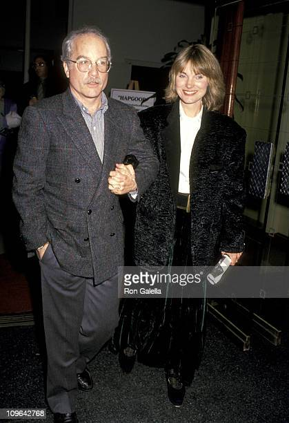 Richard Dreyfuss and Jeramie Rain during 'Hapgood' Hollywood Opening Night at James A Doolittle Theater in Hollywood California United States