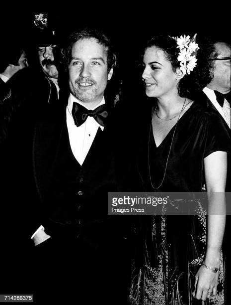 Richard Dreyfuss and Lucinda Valles attend the 50th Annual Academy Awards Ball circa 1978 in Beverly Hills California