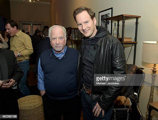 Richard Dreyfuss and Patrick Wilson attend the 'Zipper' cast party at GREY GOOSE Blue Door during Sundance on January 27 2015 in Park City Utah