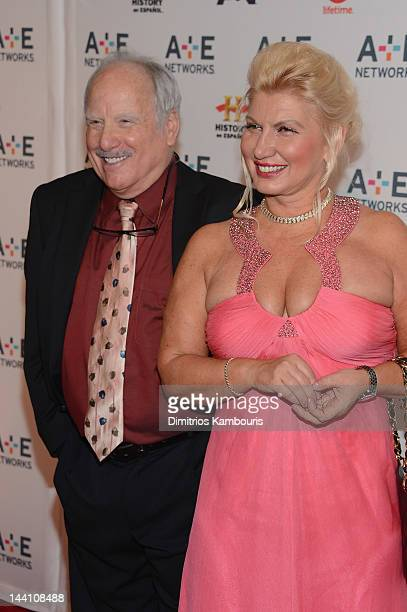 Richard Dreyfuss and Svetlana Erokhin of Coma attend the AE Networks 2012 Upfront at Lincoln Center on May 9 2012 in New York City