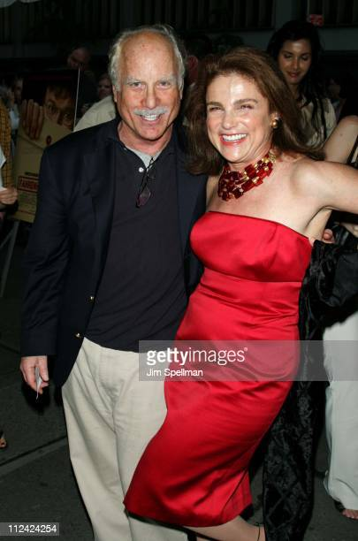 Richard Dreyfuss and Tovah Feldshuh during 'Fahrenheit 9/11' New York Screening Outside Arrivals at Ziegfeld Theater in New York City New York United...
