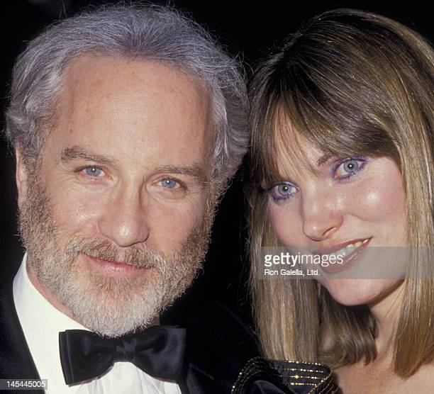 Richard Dreyfuss and wife Jeramie Rain attend Wiesenthal Center Benefit Dinner Gala on January 28 1987 at the Bonaventure Hotel in Los Angeles...