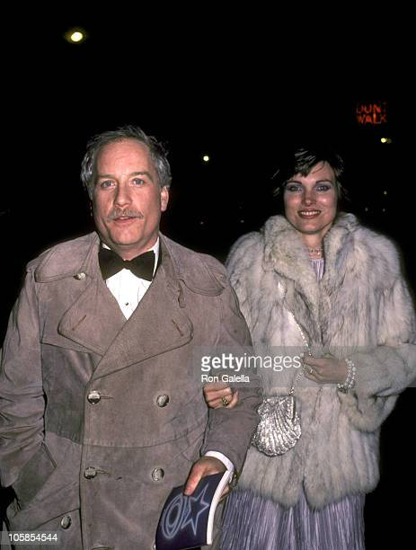 Richard Dreyfuss and Wife Jeramie Rain during Returning after rehearsals for Night of 100 Stars II at New York Hilton Hotel in New York City New York...