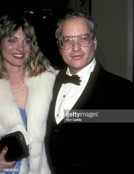 Richard Dreyfuss and Wife Jeramie Rain during The Grifters Premiere Party January 23 1991 at Big City Diner in New York City New York United States