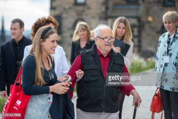 Richard Dreyfuss arrives for a photocall for the World Premiere of 'Astronaut' during the 73rd Edinburgh International Film Festival at The City...