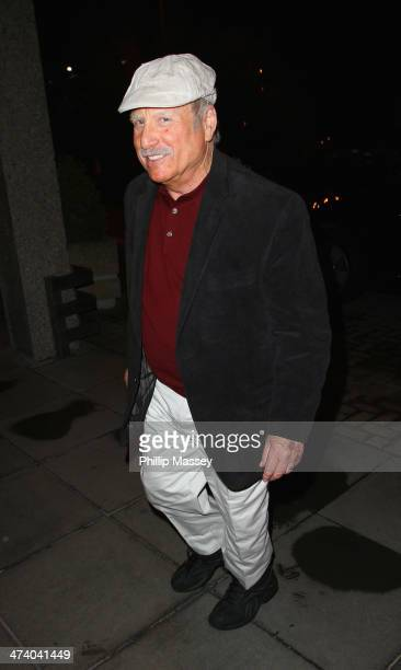 Richard Dreyfuss attends the Late Late Show on February 21 2014 in Dublin Ireland