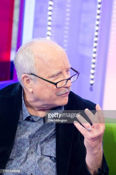 Richard Dreyfuss in conversation with Will Young on the BBCs 'The One Show' on the evening of the launch of the new Will Young album 'Lexicon' in the...