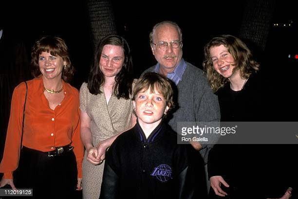 Richard Dreyfuss Janelle Lacey and His Daughter Emily Dreyfuss and Sons Benjamin Dreyfuss and Harry Dreyfuss