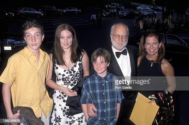 Richard Dreyfuss Janelle Lacey His Daughter Emily Dreyfuss and Son Benjamin Dreyfuss and Harry Dreyfuss