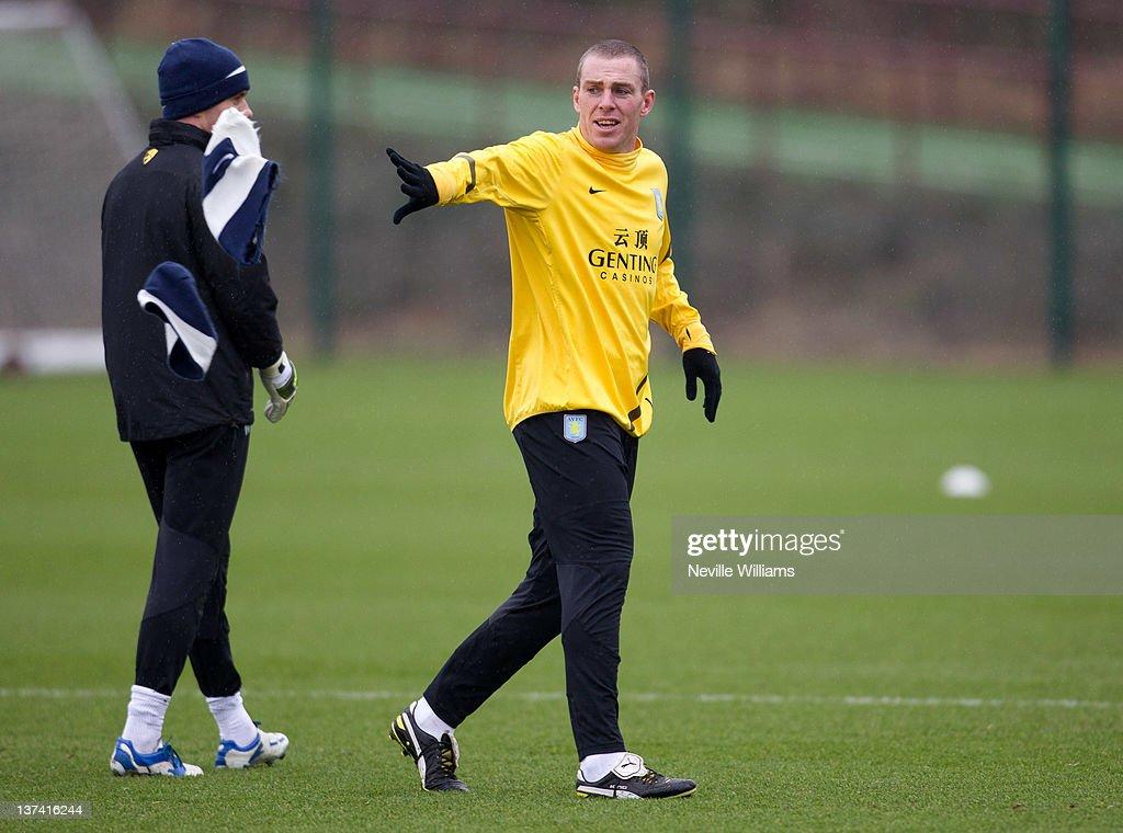 Aston Villa FC Training