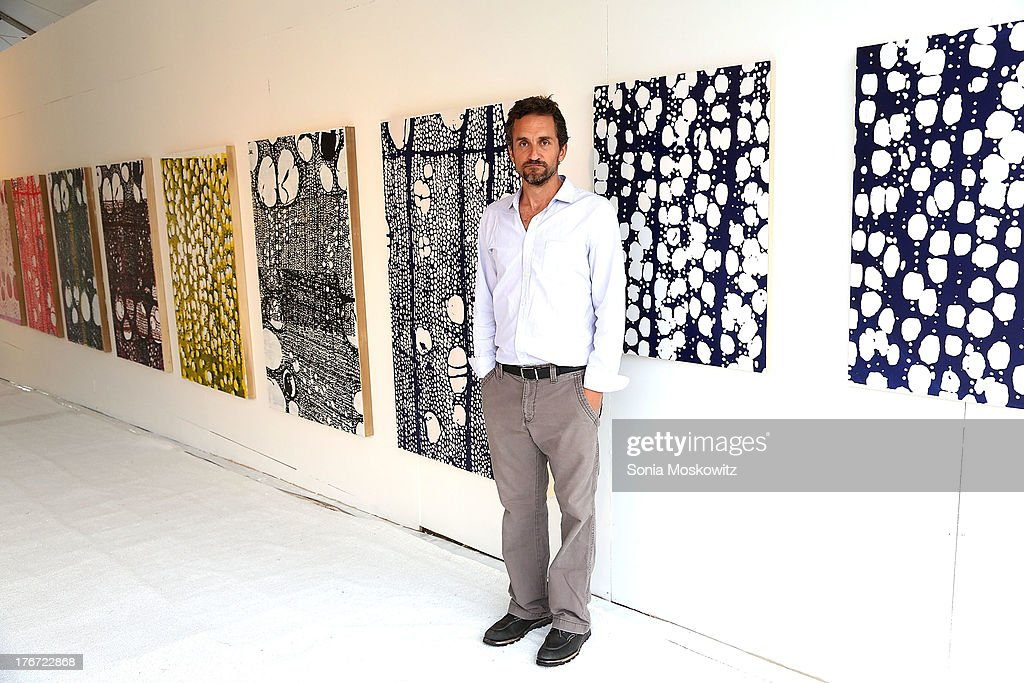 Richard Dupont attends Domingo Zapata's A Contemporary Salon event>> on August 17, 2013 in Watermill, New York.